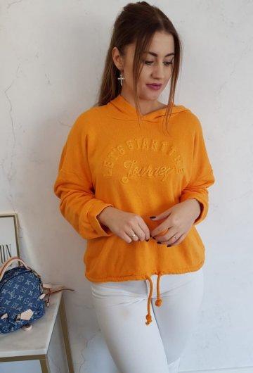 Bluza Lets Pomarańczowa