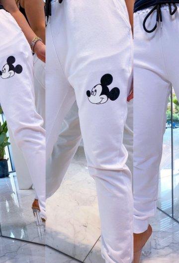 Spodnie dresowe Miki White