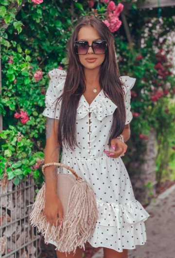 Sukienka Megi Groszki 16