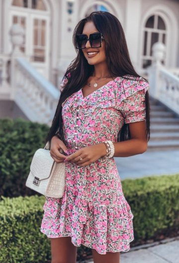 Sukienka Megi Kwiatki 2