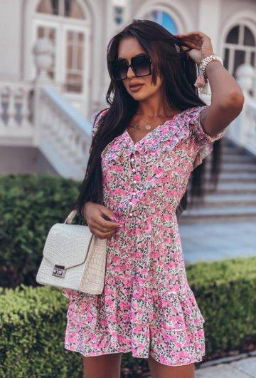 Sukienka Megi Kwiatki 4
