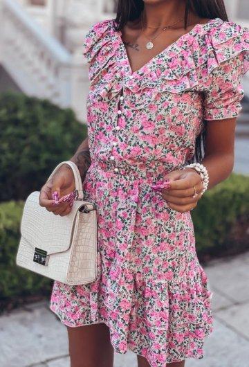 Sukienka Megi Kwiatki 6