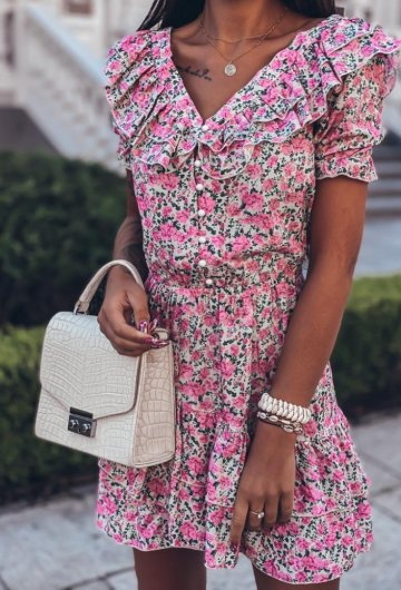 Sukienka Megi Kwiatki 10