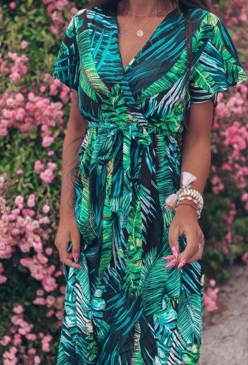 Sukienka Palms kopertowa 1