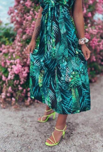 Sukienka Palms kopertowa 3