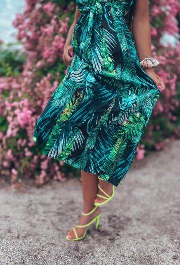 Sukienka Palms kopertowa 5