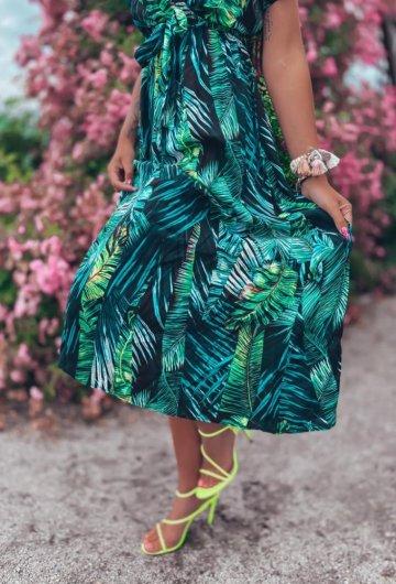 Sukienka Palms kopertowa 6