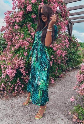 Sukienka Palms kopertowa 7