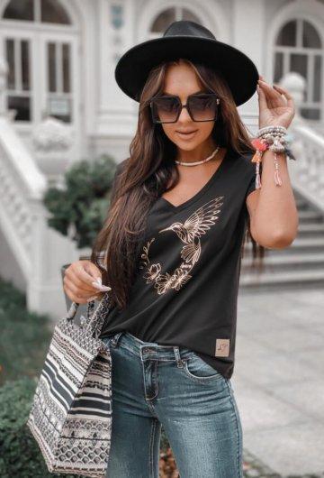 T-shirt Koliber Czarny 1