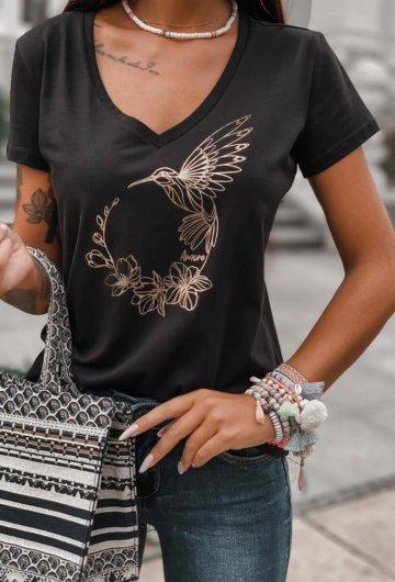 T-shirt Koliber Czarny 2