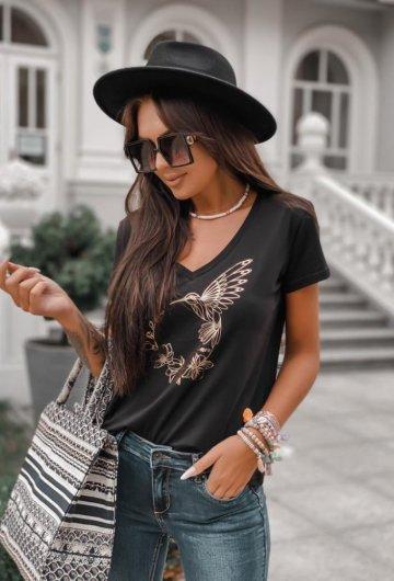 T-shirt Koliber Czarny 4