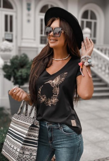 T-shirt Koliber Czarny 5