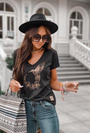 T-shirt Koliber Czarny 6