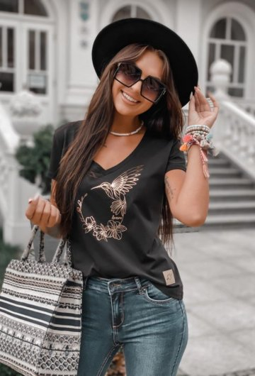 T-shirt Koliber Czarny 8
