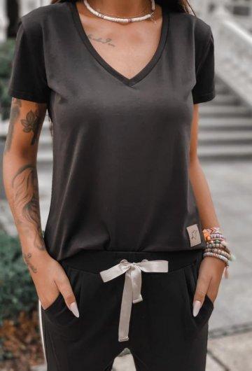 T-shirt Basic Czarny 3