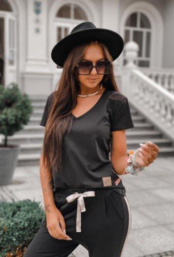 T-shirt Basic Czarny 5