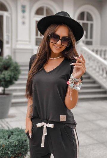 T-shirt Basic Czarny 7