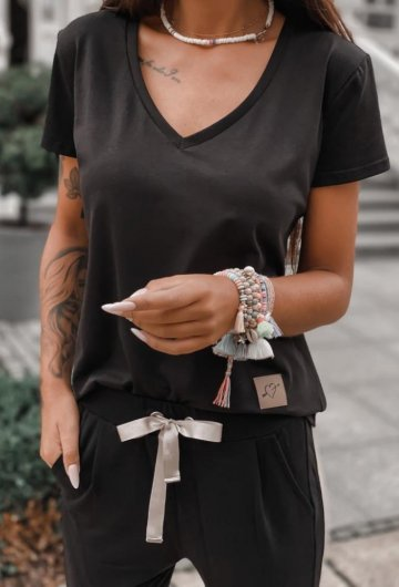 T-shirt Basic Czarny 8