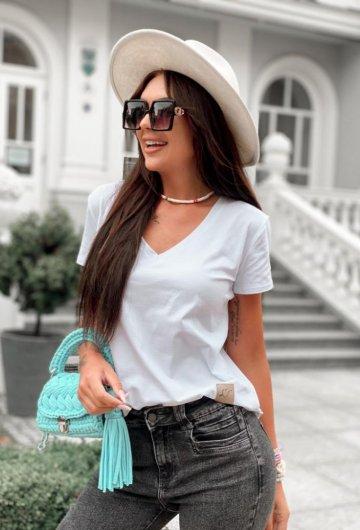 T-shirt Basic Biały 1