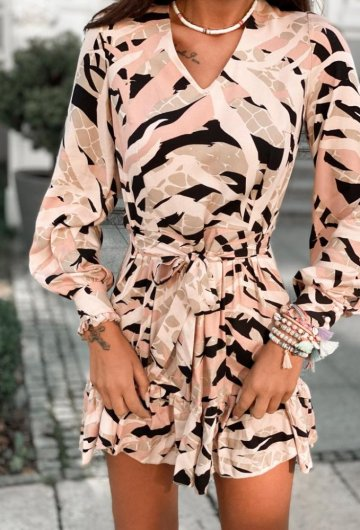 Sukienka Megi Wzory