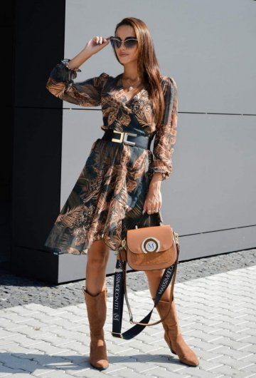 Sukienka Lou Autumn Midi