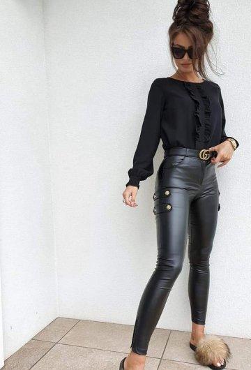 Spodnie Santo Woskowane