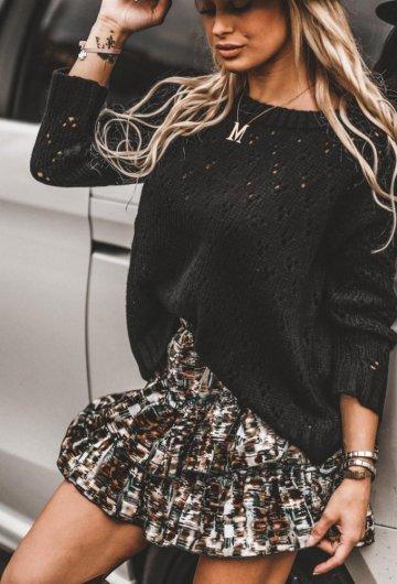 Sweter Amore Czarny